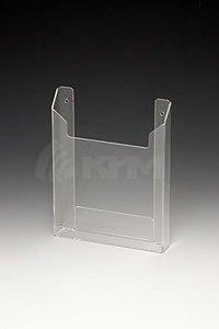 Настенный карман (буклетница)  из пластика (объемный) A5, арт. 16145